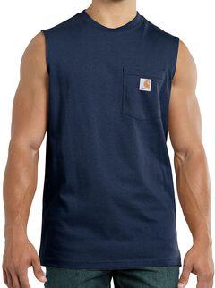 Carhartt Workwear Pocket Sleeveless Shirt, , hi-res