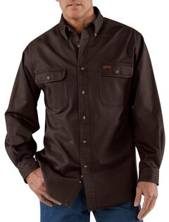 Carhartt Sandstone Twill Work Shirt, , hi-res