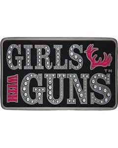 Montana Silversmiths Girls with Guns Embellished Belt Buckle, , hi-res
