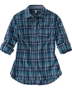 Carhartt Women's Dodson Long Sleeve Shirt, , hi-res