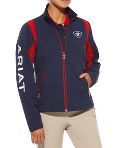 Ariat Women's Team Logo Softshell Jacket, , hi-res