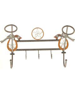 Pistol Hanging Hat Rack with Hooks, , hi-res