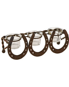 BB Ranch Cast Iron Horseshoe Tealight Holder, , hi-res