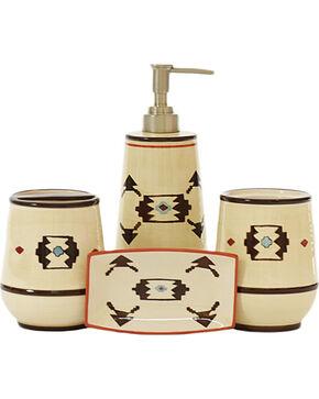 HiEnd Accent Cream Artesia Four-Piece Bathroom Set , Cream, hi-res