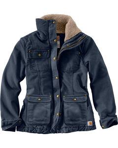 Carhartt Women's Weathered Duck Wesley Coat, , hi-res