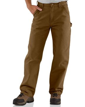 Carhartt Canyon Washed Duck Dungaree Work Pants, Canyon, hi-res