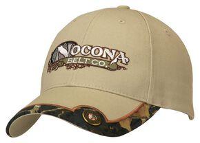 Nocona Tan Shotgun Shell Concho Cap, Tan, hi-res