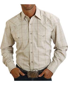 Stetson Men's Modern Fit Long Sleeve Shirt, Blue, hi-res