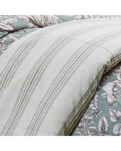 HiEnd Accents Prescott Taupe Stripe Duvet - Super King, , hi-res