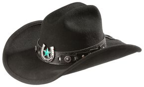 Bullhide Against All Odds Cowgirl Hat, Black, hi-res