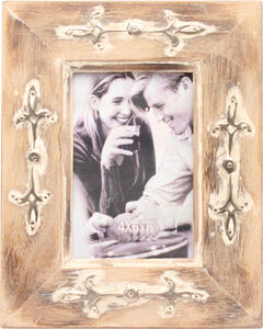 Western Moments 4X6 Distressed Wooden Frame, Brown, hi-res