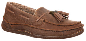 Durango City Women's Santa Fe Tassel Low Moccasins, Brown, hi-res
