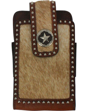 Cody James Hair On Hide Cell Phone Case , Brown, hi-res