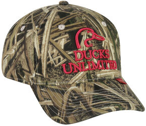 Ducks Unlimited Women's Camo Cap , Camouflage, hi-res