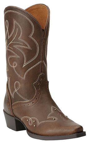 Ariat Girls' Spellbound Cowgirl Boots - Snip Toe, Tan, hi-res