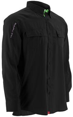 Huk Performance Fishing Men's Next Level Woven Shirt , , hi-res