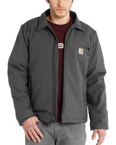 Carhartt Men's Grey Quick Duck Livingston Jacket - Big & Tall , , hi-res