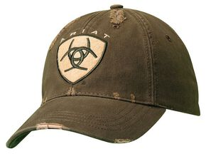 Ariat Embroidered Logo Patch Cap, Green, hi-res