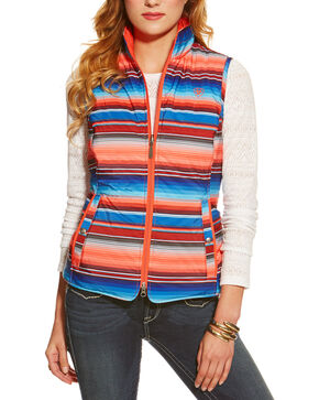 Ariat Women's Serape Zooey Vest , Multi, hi-res