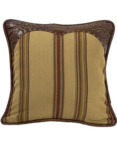 HiEnd Accents Ruidoso Striped Studded Throw Pillow, , hi-res
