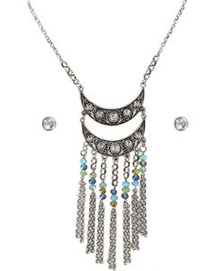 Shyanne Women's Rhinestone and Beaded Jewelry Set, , hi-res