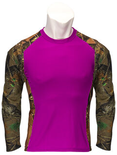 Trail Crest Women's Impulse 4-Way Stretch Long Sleeve Camo T-Shirt, , hi-res