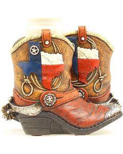 Western Moments Texas Boots Salt and Pepper Shaker Set, , hi-res
