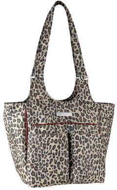 Ariat Mini Carry All Cheetah Print Poly Canvas Tote Bag, , hi-res