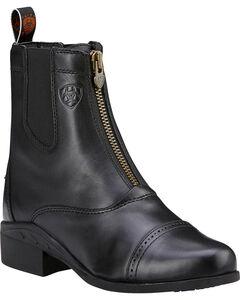 Ariat Heritage Zipper Paddock Riding Boots - Round Toe, , hi-res