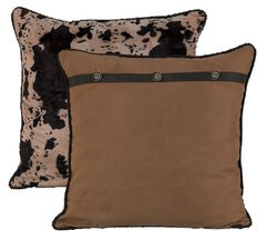 HiEnd Accents Western Reversible Euro Pillow Sham, , hi-res