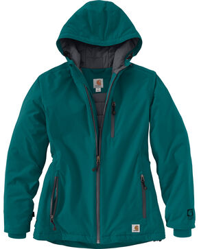 Carhartt Women's Teal Storm Defender Elmira Jacket, Teal, hi-res