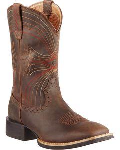Ariat Sport Cowboy Boots - Square Toe, , hi-res