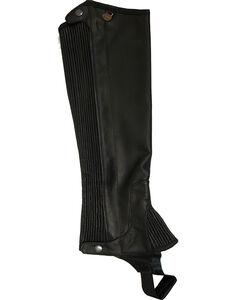 Ovation Women's Pro Top Grain Leather Half Chaps, , hi-res