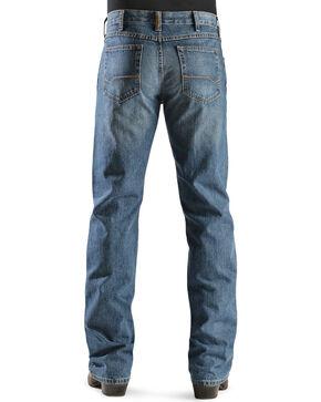 """Ariat Men's Heritage Denim Classic Fit Straight Leg Jeans - 38"""" Inseam, Med Stone, hi-res"""