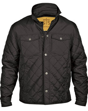 STS Ranchwear Men's Cassidy Jacket - Big & Tall, Black, hi-res