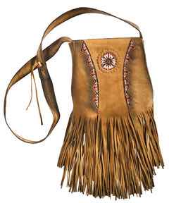 Kobler Leather Khaki Shoulder Bag , , hi-res