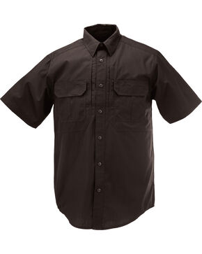 5.11 Tactical Taclite Pro Short Sleeve Shirt - Tall Sizes (2XT - 5XT), Black, hi-res