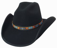 Bullhide Apache Pass Premium Wool Cowboy Hat, , hi-res