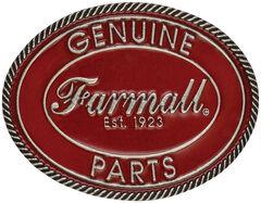 Montana Silversmiths Case IH Medium Vintage Red Genuine Parts Belt Buckle, , hi-res