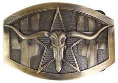 Cody James Men's Longhorn Buckle, , hi-res