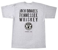 Jack Daniel's Men's Grey Whiskey Short Sleeve T-Shirt, , hi-res