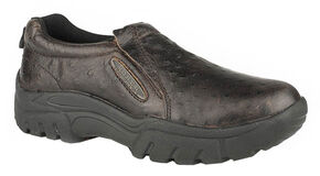 Roper Men's Alamosa Slip-On Shoes , Brown, hi-res