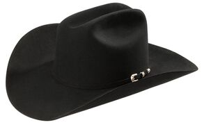 Stetson 20X Fur Felt Paradise Cowboy Hat, Black, hi-res