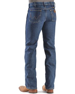 Wrangler Advanced Comfort Slim Fit Jeans - Tall, Dark Denim, hi-res