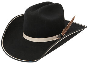Resistol Bad Habit B Cowboy Hat , Black, hi-res