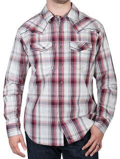 Cody James Men's Gold Nugget Plaid Western Shirt, , hi-res