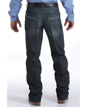 Cinch Men's Indigo August Grant Relaxed Jeans - Boot Cut, Denim, hi-res