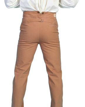 Scully Rangewear Men's Canvas Pants - Big and Tall, Brown, hi-res