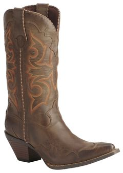Durango Rock N' Scroll Cowgirl Boots, , hi-res