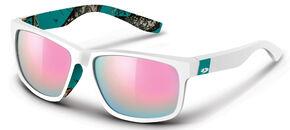 Mossy Oak Women's Break-Up® Jade White Wasatch Sunglasses, White, hi-res